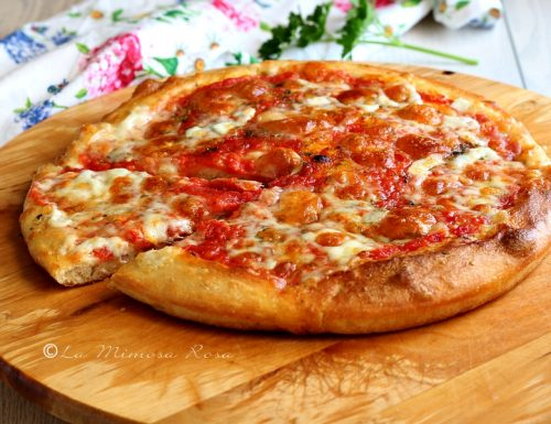 Pizza senza impasto buonissima