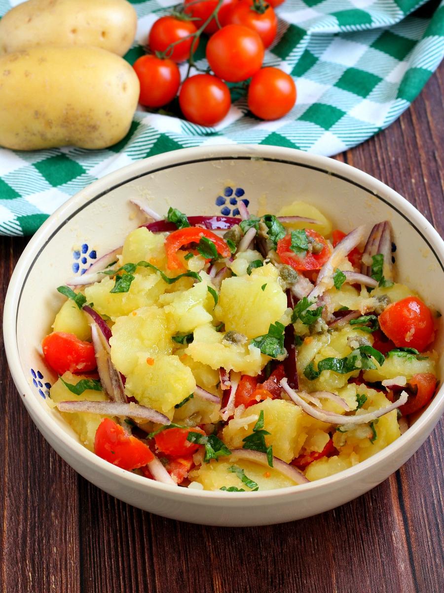Insalata di patate pugliese ricetta..