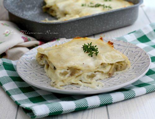 Lasagne ai carciofi