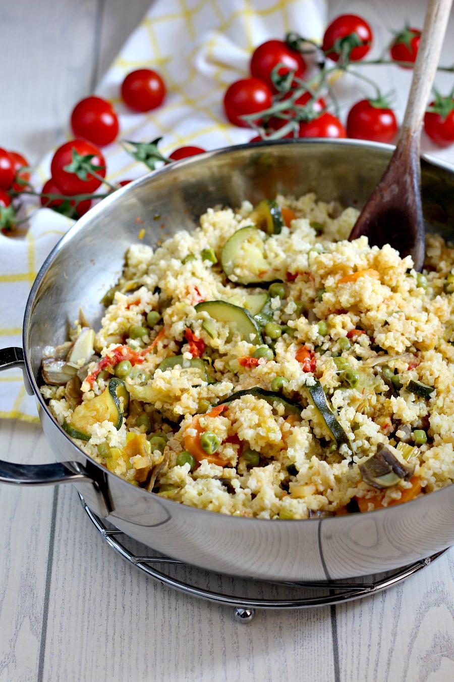 Miglio alle verdure ricetta