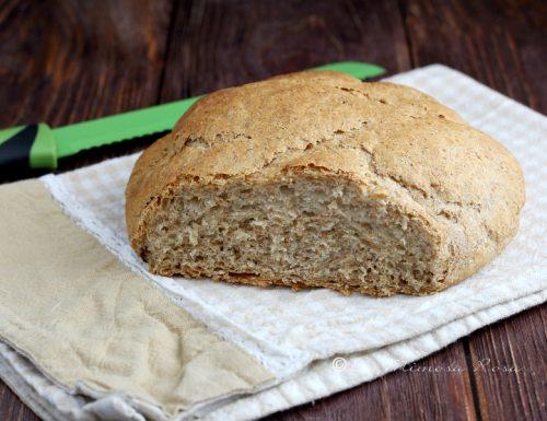 Pane senza impasto con 1 grammo di lievito