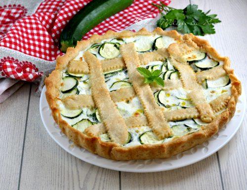 Torta salata alle zucchine senza panna