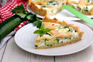 Torta salata alle zucchine senza panna deliziosa
