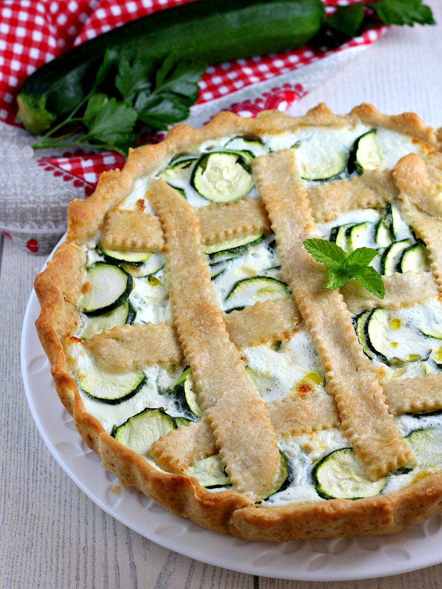 Torta salata alle zucchine ricetta