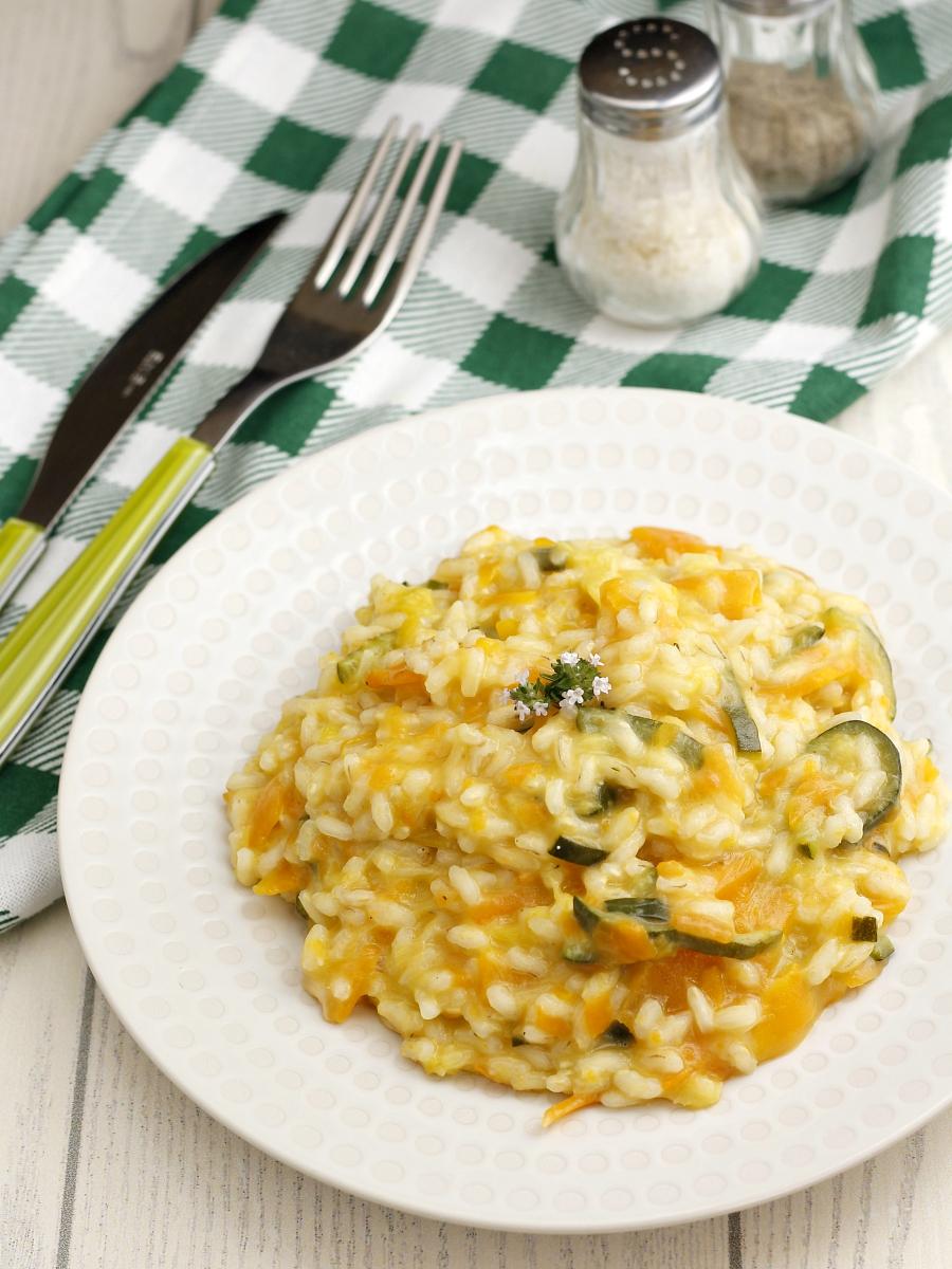 Risotto con carote e zucchine ricetta.