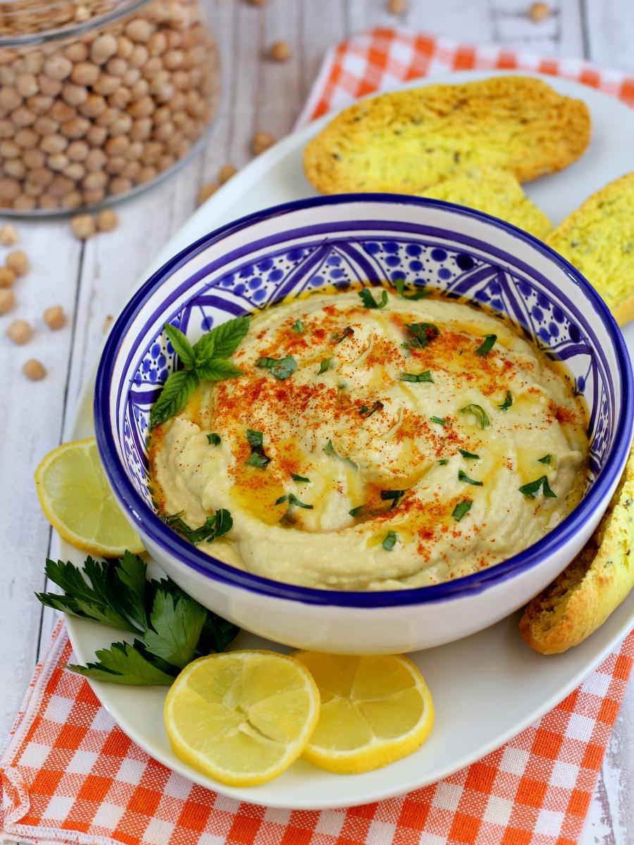 Hummus di ceci ricetta...