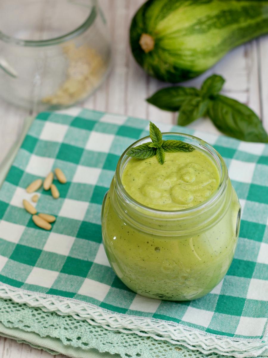 Pesto di zucchine ricetta