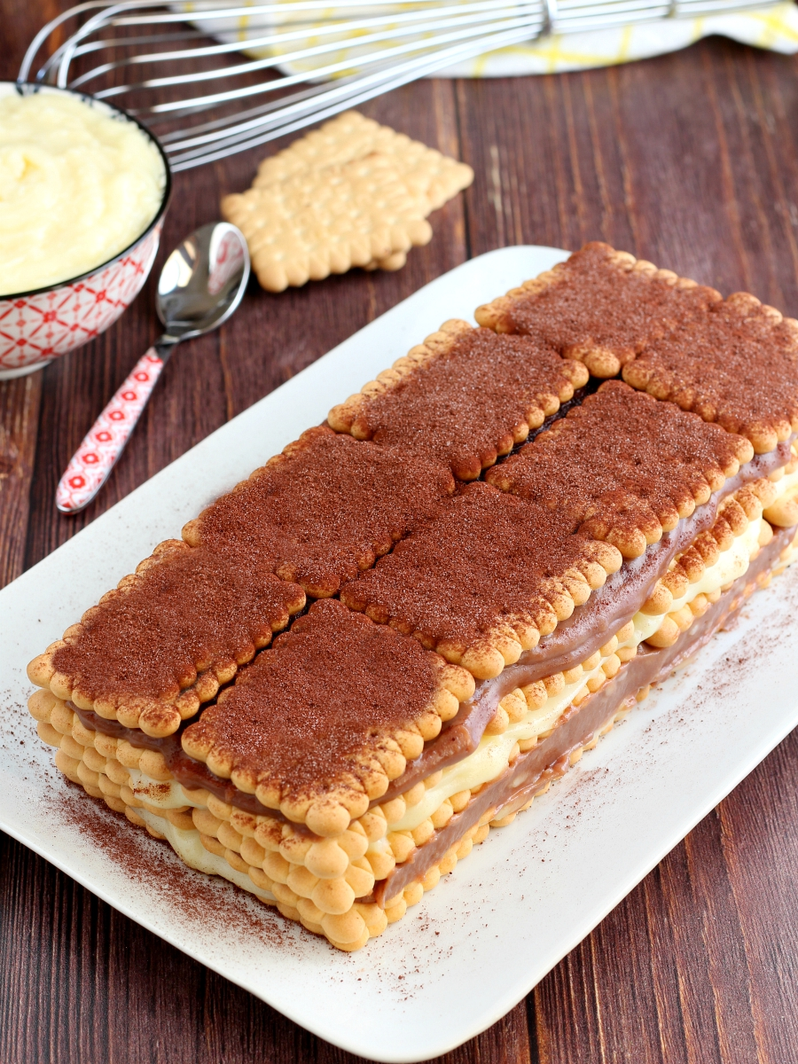 Torta di biscotti della nonna ricetta