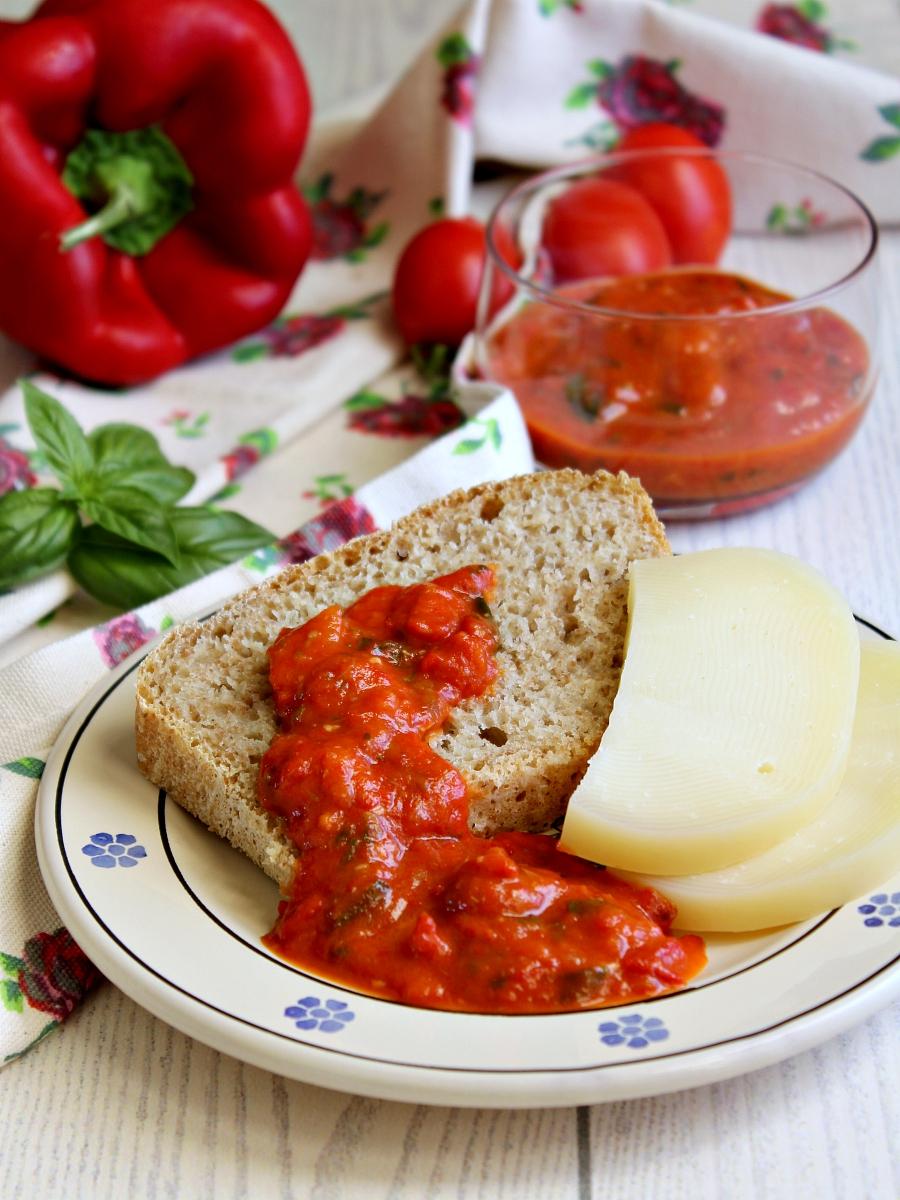 Bagnetto rosso piemontese ricetta.