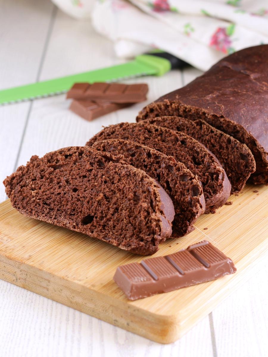 Pane al cioccolato soffice ricetta