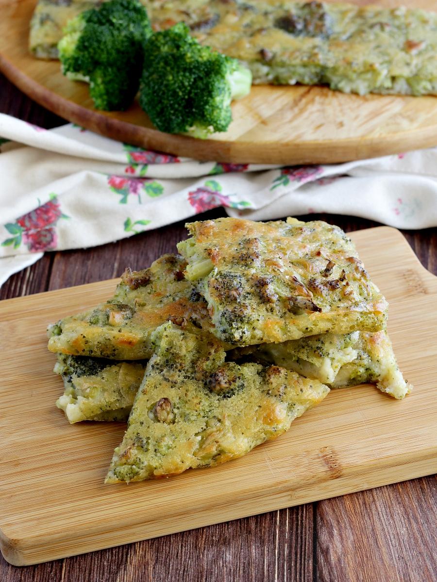 Schiacciata ai broccoli ricetta