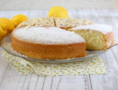 Torta al limone con olio di oliva