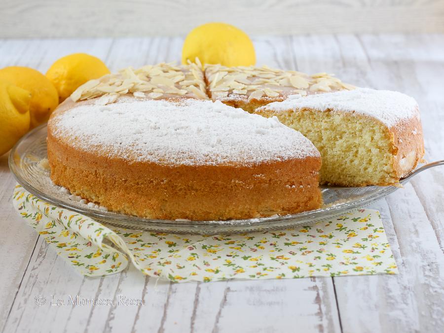 Torta al limone con olio di oliva...