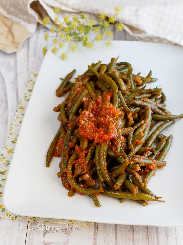 Fagiolini alla fiorentina ricetta