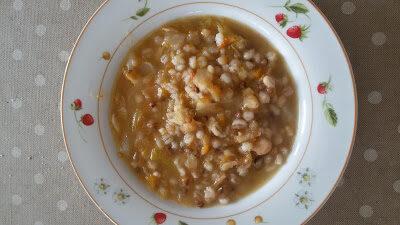 Zuppa rustica alla verza
