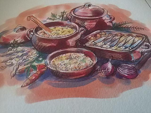 cucinare nella terracotta