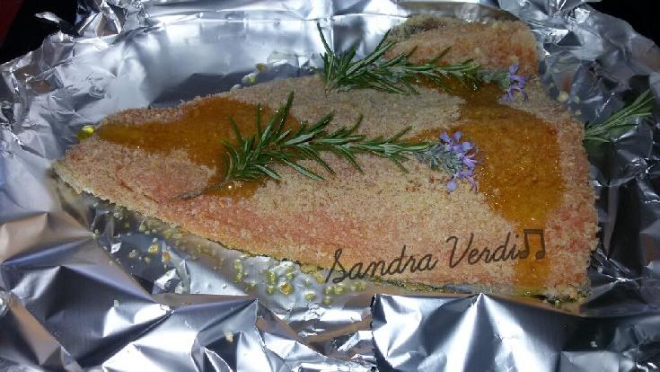 filefiletti di merluzzo al fornotti di trota salmonata