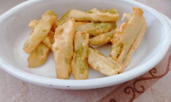 Sedano fritto croccante