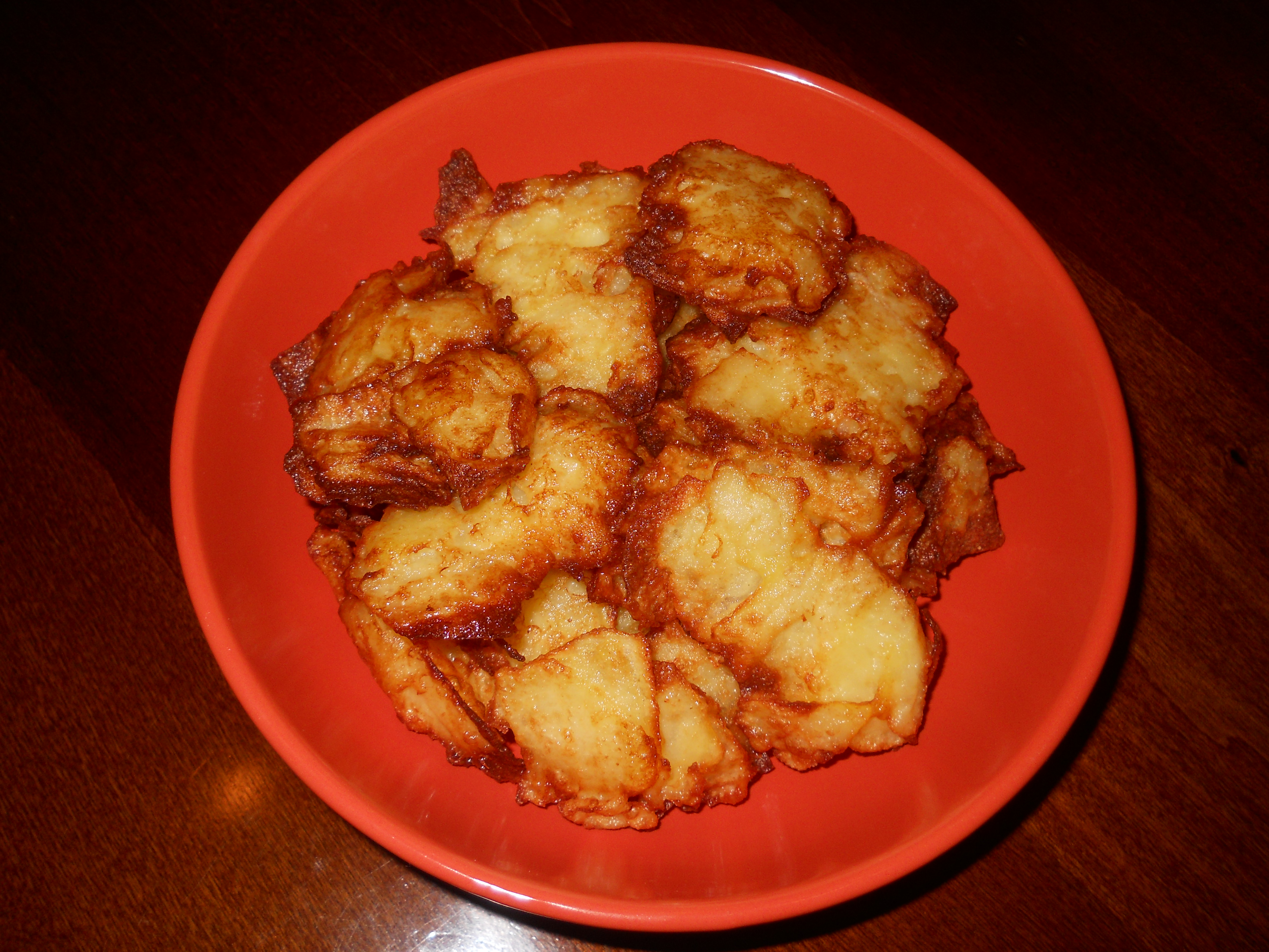 le mie frittelle di patate