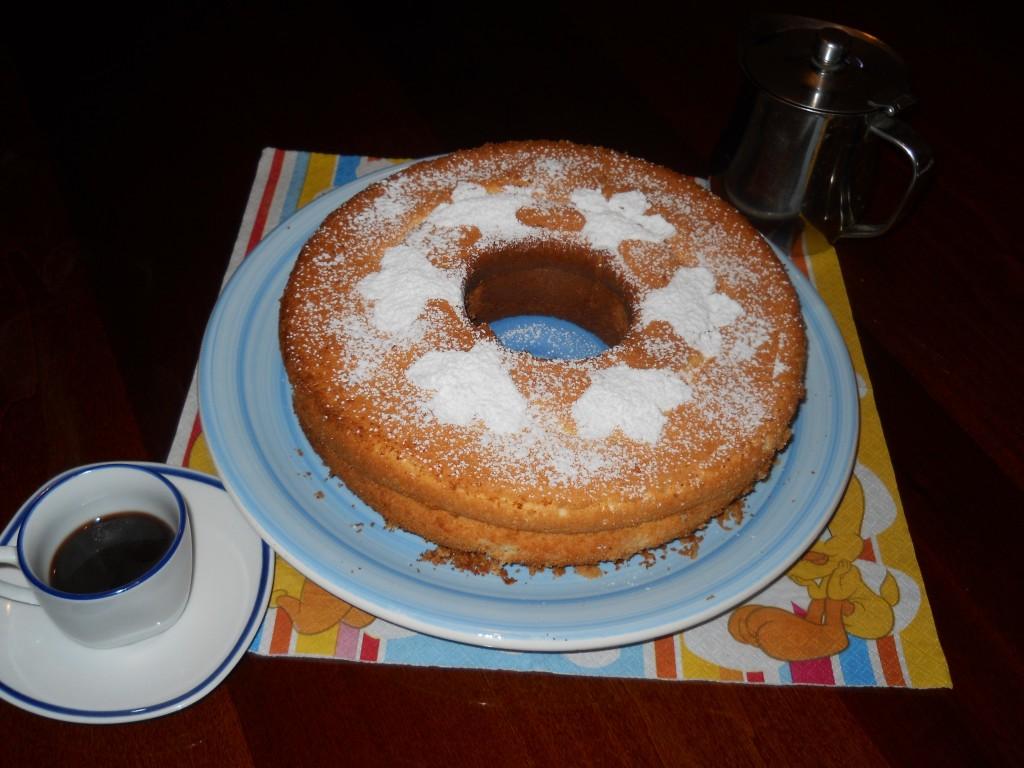 la chiffon cake delicata e morbidissima