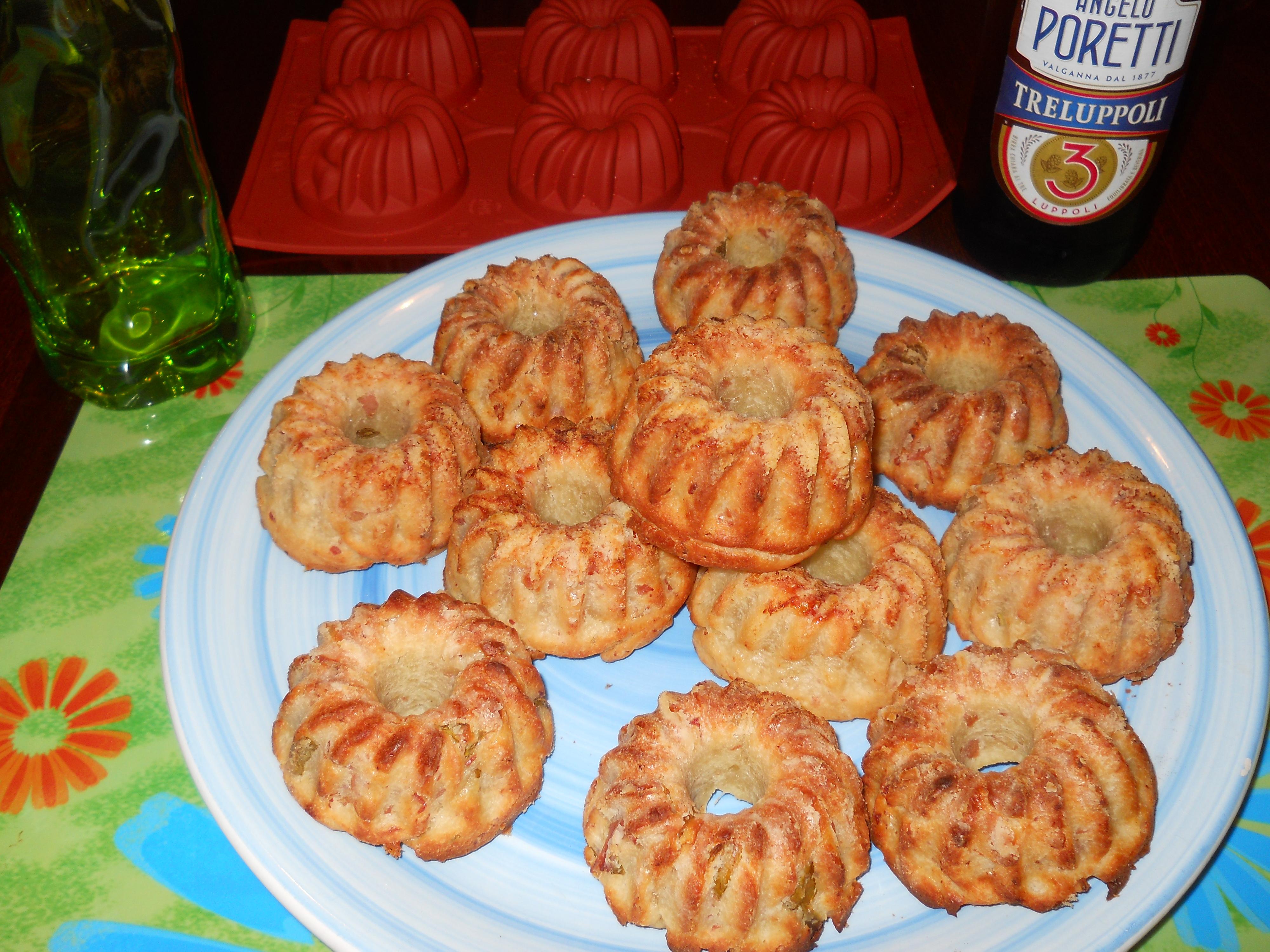 i miei muffin rustici aromatizzati