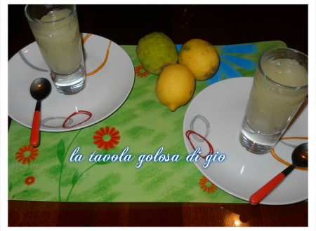 crema al limone senza uova rinfrescante