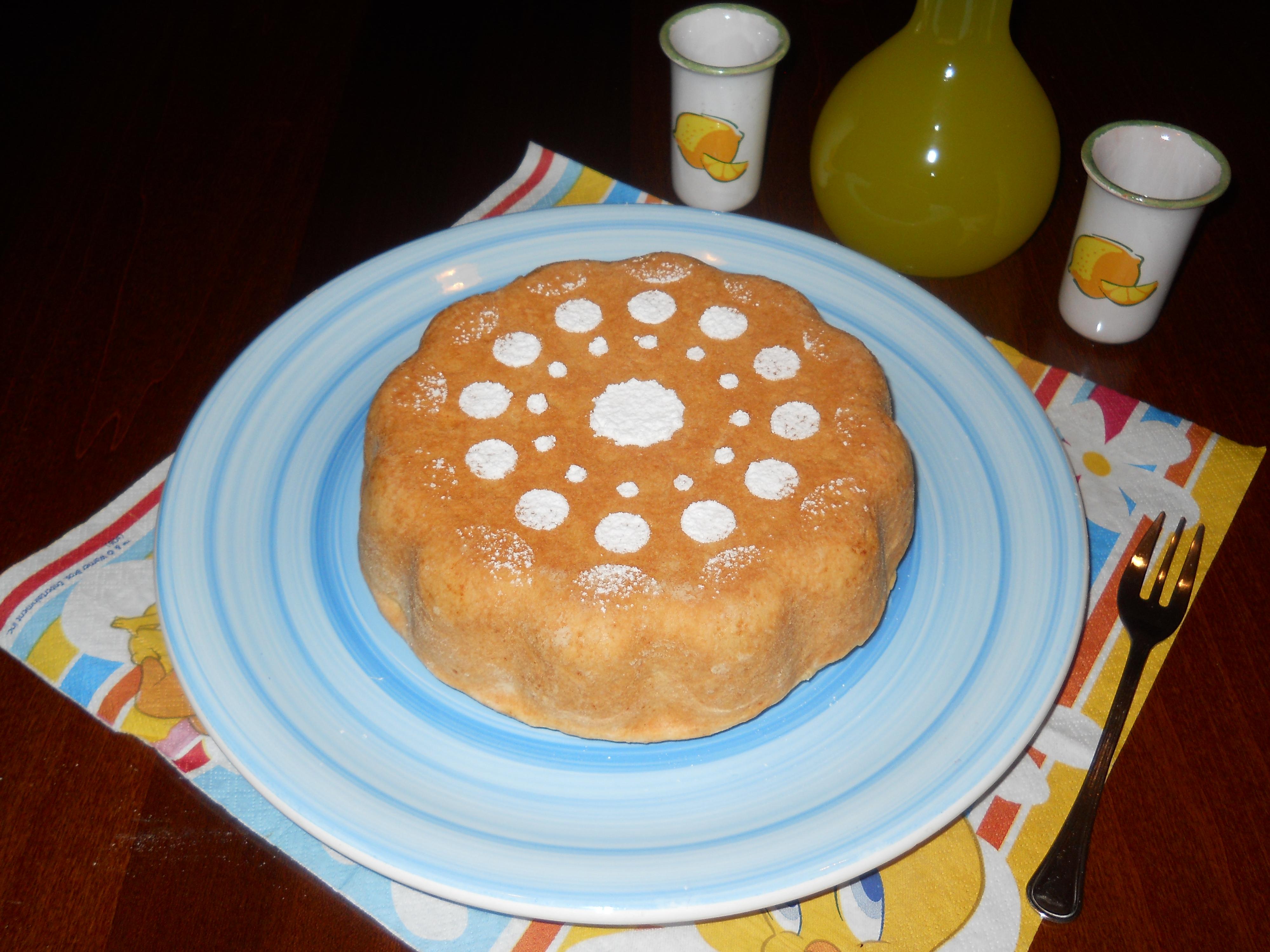 la mia torta frolla con mele e crema pasticcera