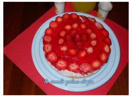 cheesecake alle fragole con ricotta