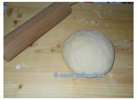 impasto per pan brioche dolce con farina di riso