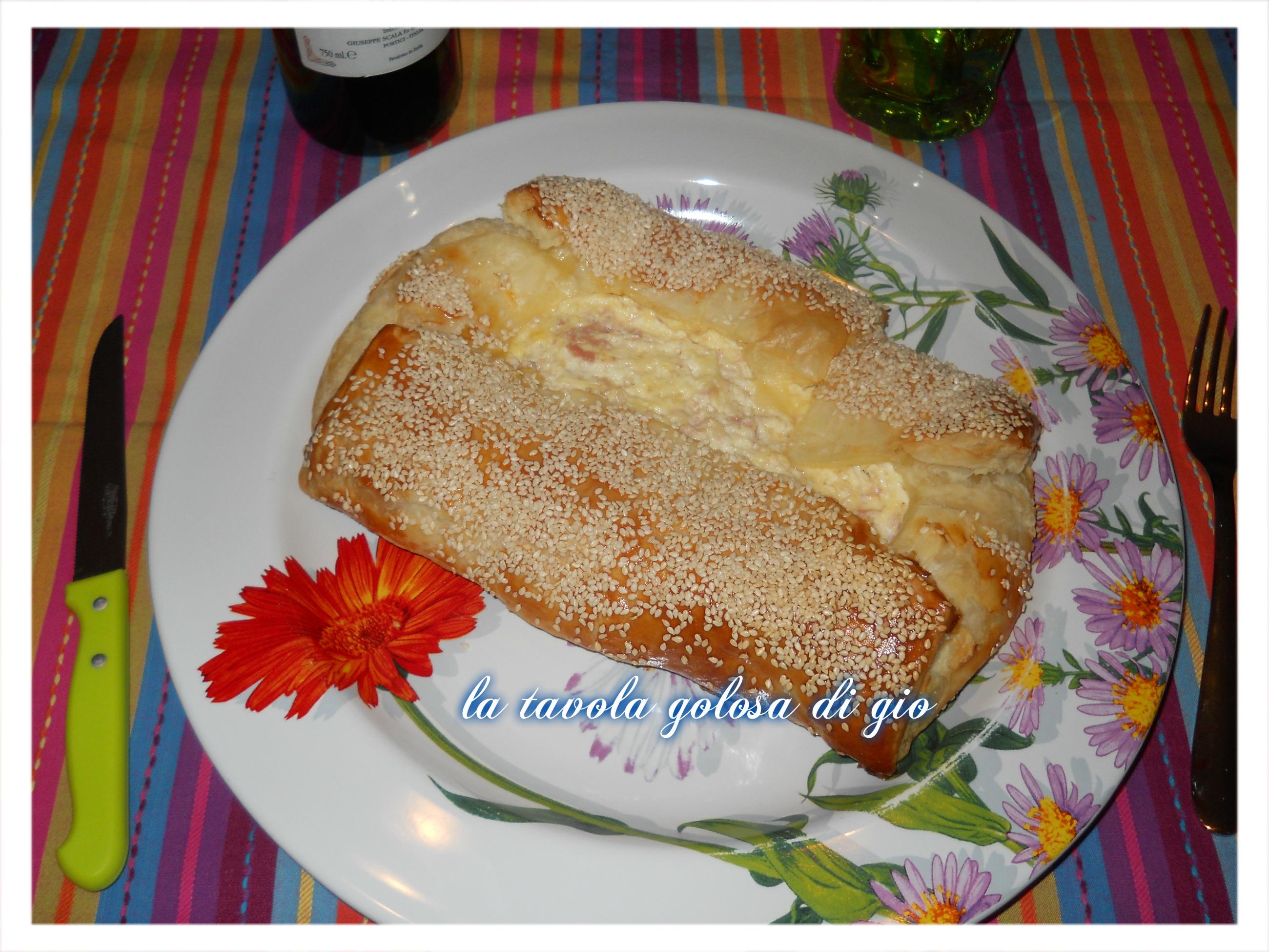 torta salata di ricotta