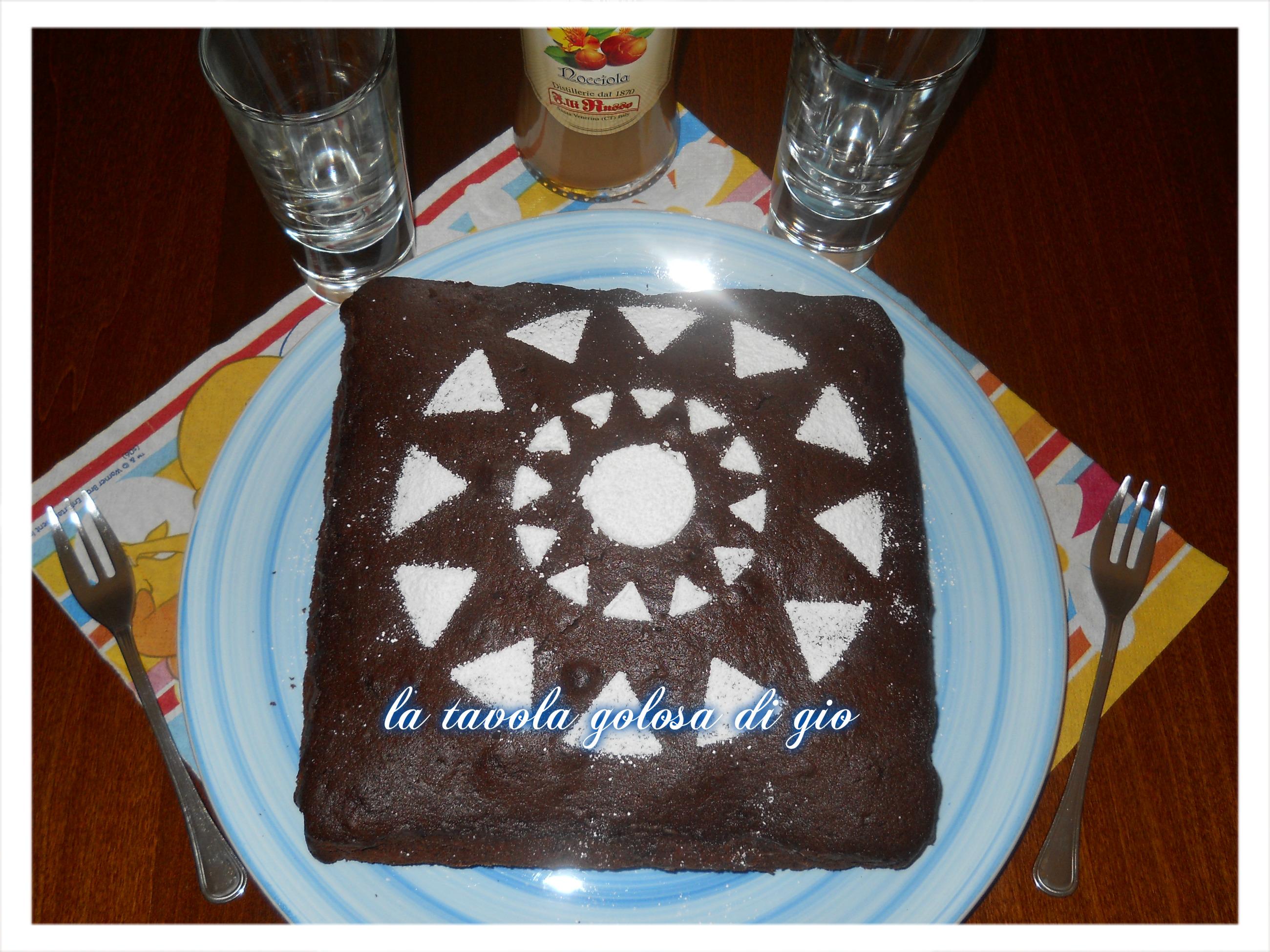 Torta Cioccolato e Panna Super Morbida