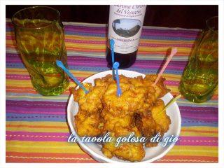 Frittelle di Pomodorini e Mortadella
