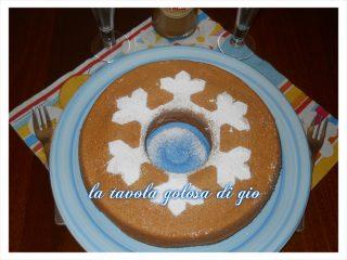 Chiffon Cake al Caffè Senza Burro