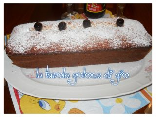 Plumcake allo Yogurt Chantilly e Amarene