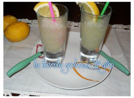 granita di limone super rinfrescante