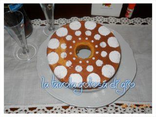 Chiffon Cake allo Yogurt alla Essenza di Arancia