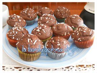 Muffin allo Yogurt e Cacao Senza Burro