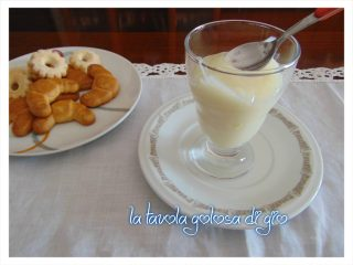 crema al latte senza panna
