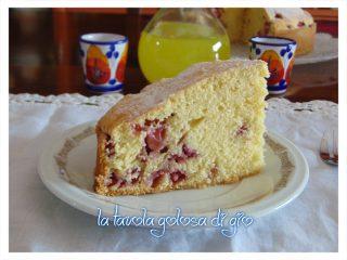 Torta Paradiso alle Fragole Delicatissima