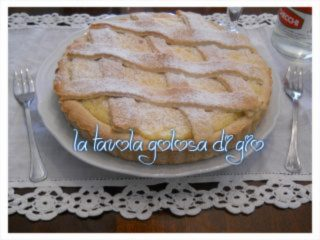 Crostata di Crema Pasticcera alla Panna