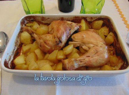 pollo con patate al forno stuzzicante