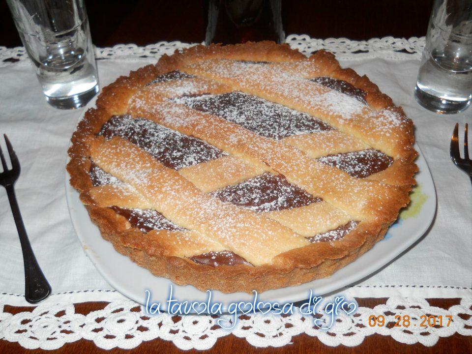 Crostata Cocco e Crema di Nocciole