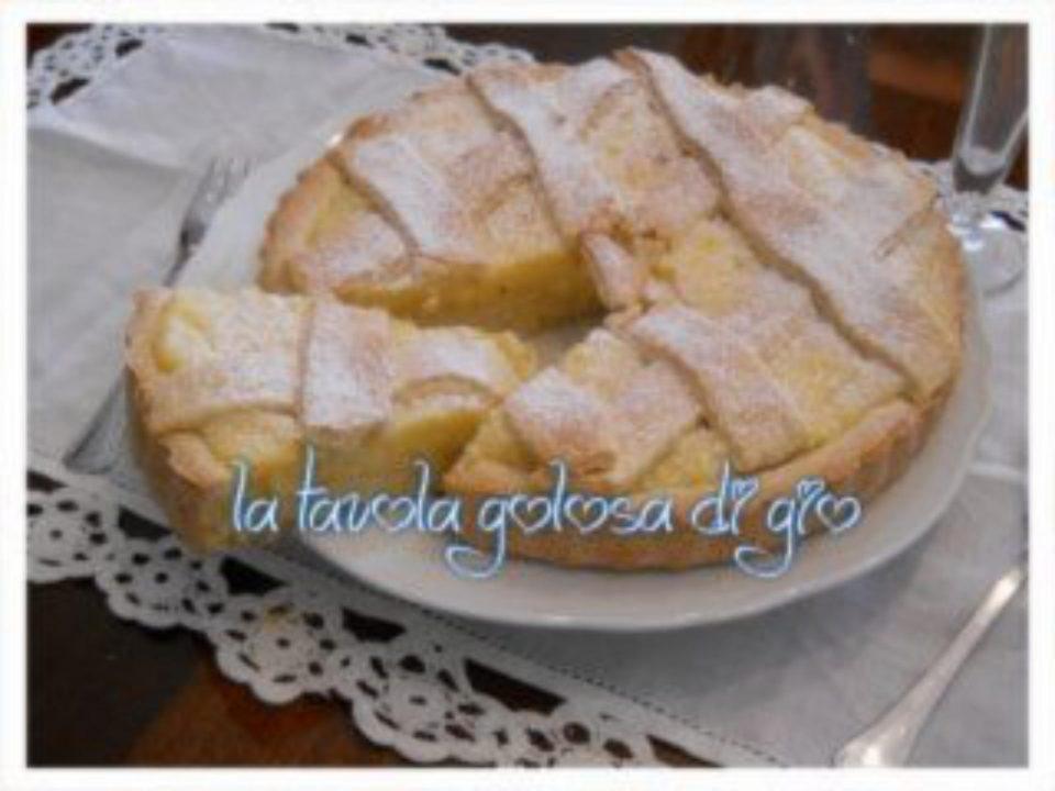 Crostata con Crema Pasticcera alla Panna