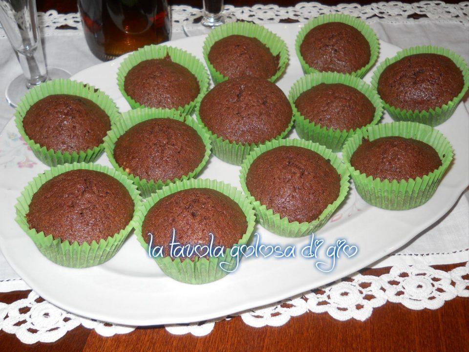 Muffins ai Due Cioccolati Tanto Golosi
