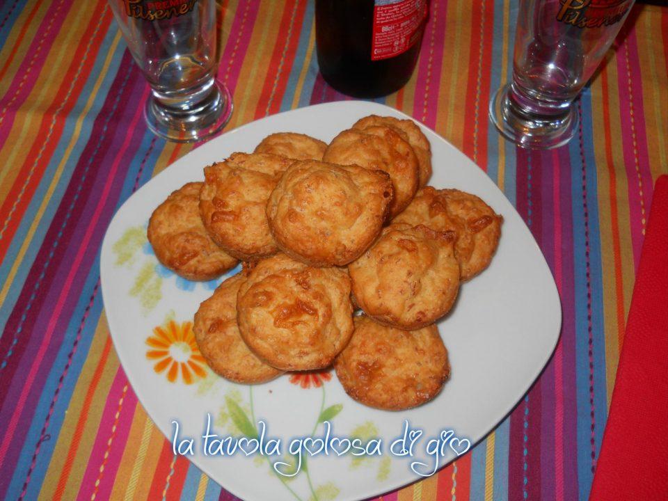 Muffins salati alla birra