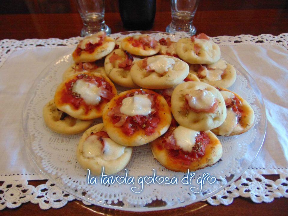Pizzette Morbide da Buffet