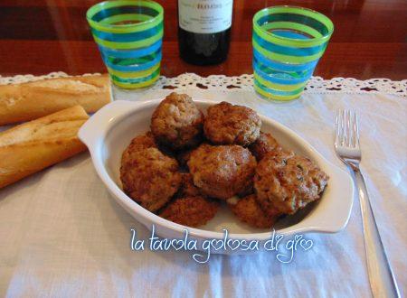 Polpettine  di carne e patate morbide