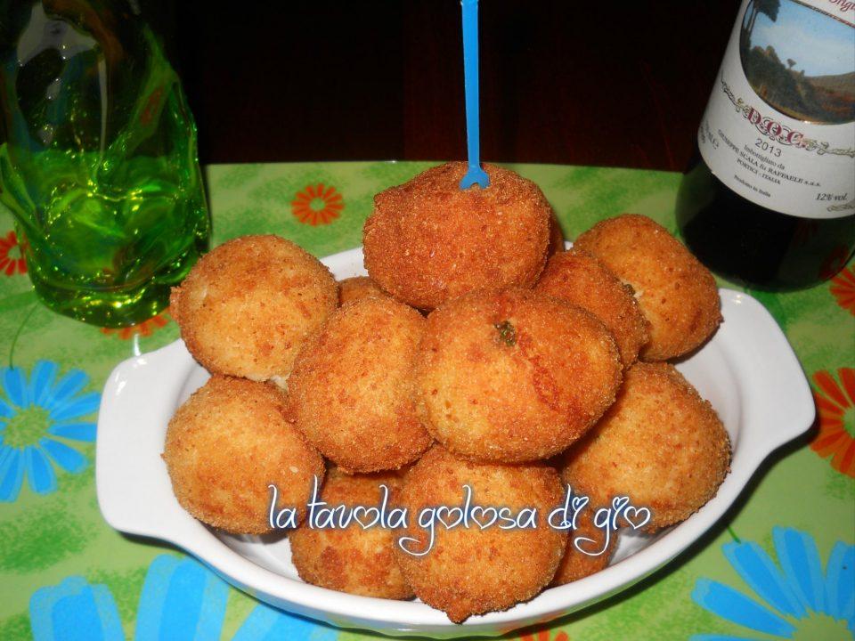 Arancinette di Patate con Cuore di Provola
