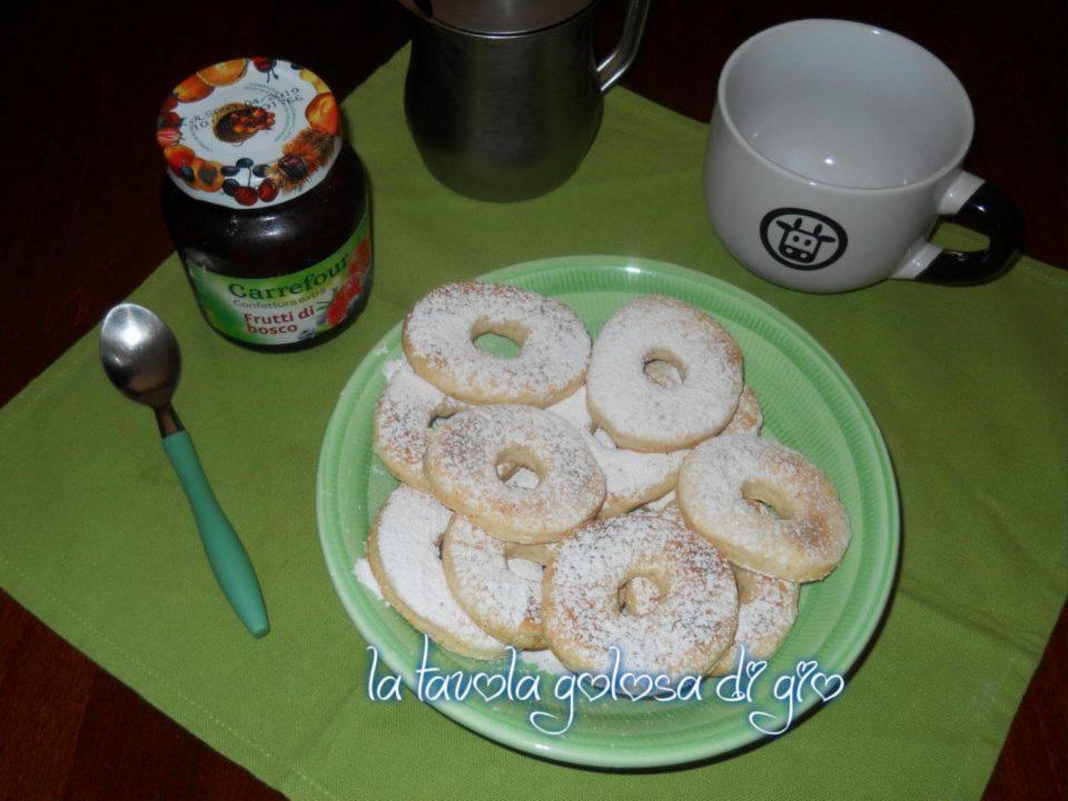 Biscotti Morbidi allo Yogurt Senza Burro
