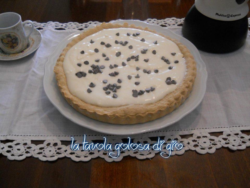 Crostata con Crema al Latte Cremosa